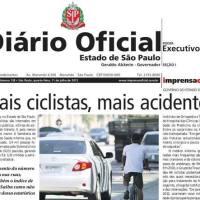 """Dê sua opinião : """"Mais ciclistas, mais acidentes"""" ??"""